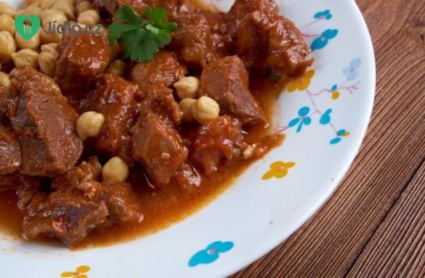 Recept Tuniský hovězí guláš