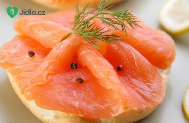 Recept Uzený losos s citrusovou zálivkou