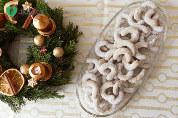 Recept Vanilkové rohlíčky z lískových oříšků
