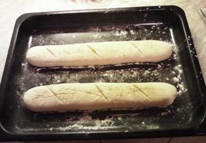 Francouzská bageta  hrníčkový recept
