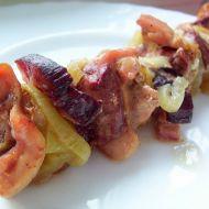 Kuřecí špíz s cibulí recept