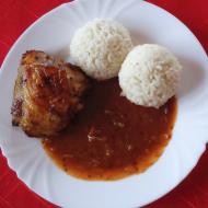 Zapečené pikantní kuřecí paličky recept