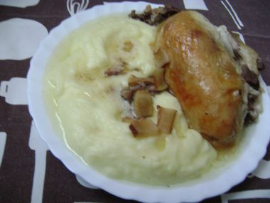 Kachní prsa pečená na špeku