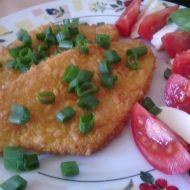 Šťavnatý kuřecí řízek se sýrem z trouby recept