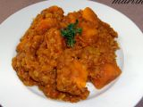Indická čočka s batáty recept