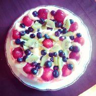 Kakaovo-ovocný dort recept