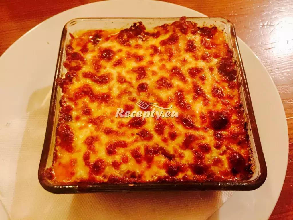 Lasagne se zeleninou recept  těstoviny