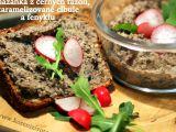 Pomazánka z černých fazolí, karamelizované cibule a fenyklu recept ...