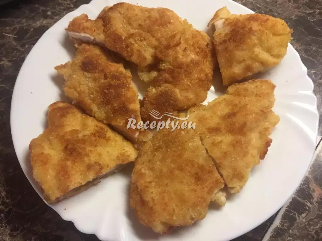 Řízky podle babičky recept  vepřové maso