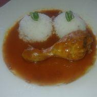 Maminčino kuře na paprice recept