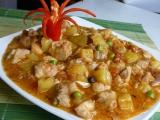 Kuřecí s vepřovým po filipínsku recept