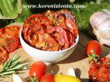 Rajčatové bylinkové chipsy s parmezánem recept