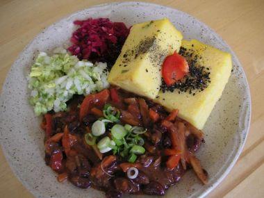 Fazolový salát s koprem