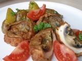 Žampiony v orientálním těstíčku se zázvorovými brambory recept ...