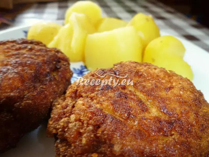 Dědovy karbanátky recept  mleté maso