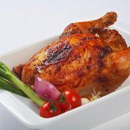 Křupavé kuře potřené medem, plněné rychlou nádivkou recept ...