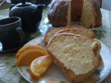 Pomerančová bábovka s pomerančovou polevou recept ...