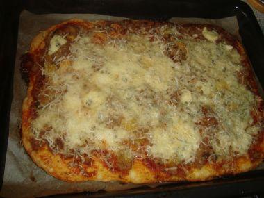 Těsto na pizzu  lehké