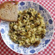 Smaženice z naložených hub recept