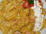 Krevetky v těstíčku recept
