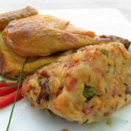 Remoskové kuře s houbami recept
