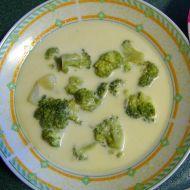 Mléčná brokolicová polévka recept