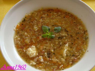 Rychlá zeleninivá polévka.