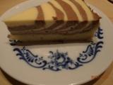 Koláč tvaroh a čokoláda recept