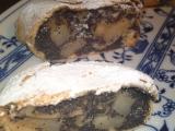 Makovo  hruškový štrúdl recept