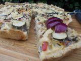 Koláč se zeleninou a sýrem recept