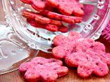 Růžové sušenky z červené řepy recept
