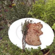 Grilovaný vepřový steak v bylinkách recept