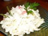 Salát s vůní kraba recept