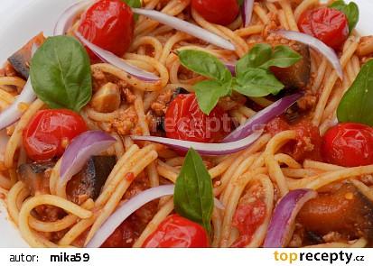 Mleté maso s lilkem nejen na špagety recept