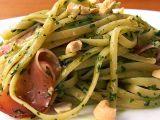 Linguine se špenátovým pestem recept
