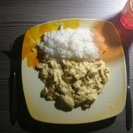 Smetanové kuřecí nudličky s rýží recept
