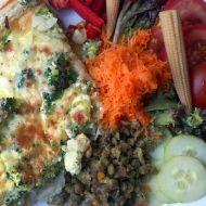 Brokolicový koláč se sýrem recept