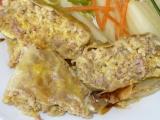 Mleté maso v zelných listech recept