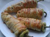Plněné papriky v listovém těstě recept