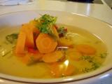 Mrkvová polévka s paprikou a pórkem recept