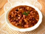 Rychlá fazolová polévka z polotovarů recept