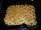 Pudinkový koláč s ovocem recept