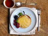 Vanilkové koláčky s hruškou a marcipánem recept
