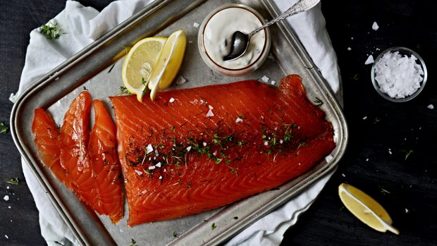 Gravlax – marinovaný losos
