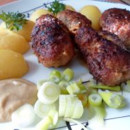 Čevapčiči z míchaného mletého masa recept
