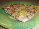 Celozrnná pizza , krásně teňoučká recept