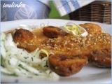 Sezamová kuřecí prsíčka recept