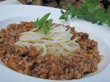 Špagety s mletým masem a provensálskými bylinkami recept ...