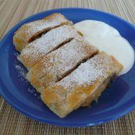 Listový jablkový závin recept