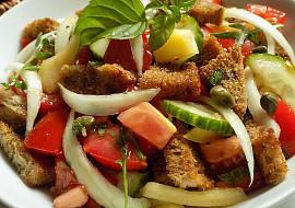 Chlebový salát recept